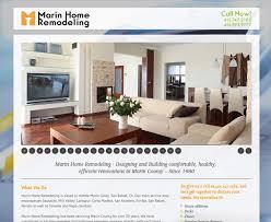 Bigmango Marketing Marin Home Remodeling Website Custom Home Interior Design Websites Remodelling