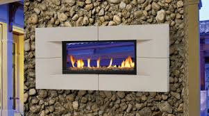 comely ideas with see through outdoor fireplace decoration astonishing grey natural stone tile wall around