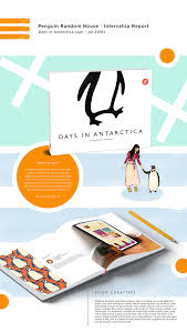 Graphic Design Internships India Penguin India Internship Report Days In Antarctica On