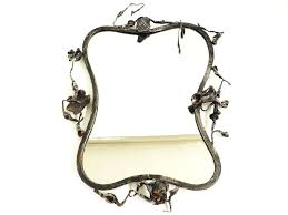 wrought iron picture frames romantic sculptural handmade frame by the artist signed on the iron frame wrought iron picture frames