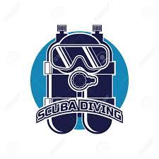 Scuba Diving Logo Design Scuba Diving Logo For Your Business Or Sport School Vector Illustration