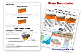 Earth Science Packet: Layers of the Earth, Plate Tectonics ...