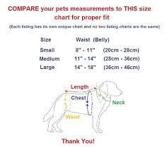 Dog Diaper Size Chart