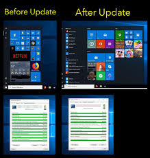 Microsoft Menu After Updating Windows 10 Microsoft Wiped Out My Organized Start