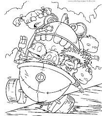 Small Picture Rugrats color page Coloring pages for kids Cartoon characters