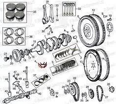 crankshaft pistons rods flywheel bearings cam etc 5 bearing crankshaft pistons rods flywheel bearings cam etc 5 bearing engine