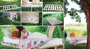 view in gallery swing bed made from pallets diy pallet swing beds bring relaxation to your home