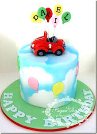 Cake Model For 1st Birthday Boys Car Cakes Sugar Rattles Journey And