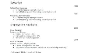 First Time Resume Template Perfect Resume Samples Perfect Resume Samples First Time Resume