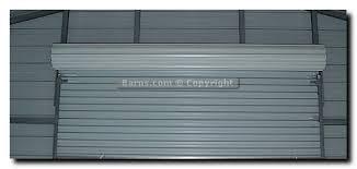 rollup garage doorRollUp Garage Door Options  Barnscom