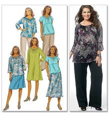 Butterick Plus Size Patterns Simple Plus Size Patterns For Women Women's Top Dress Skirt And