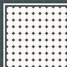 black and white floor tile bathroom. london mosaic victorian tile design: octagon 100 - monochrome, traditional victorian, floor tiles. white bathroom black and w