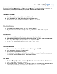 english iii dual credit the glass castle essay topics you must use the glass castle