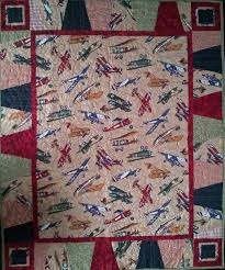 29 best Boy quilts images on Pinterest | Boy quilts, Airplane ... & Serena Bean Quilts: Antique Airplane Baby Quilts #accuquilt Adamdwight.com