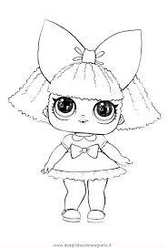 Disegno Lol Surprise4 Personaggio Cartone Animato Da Colorare