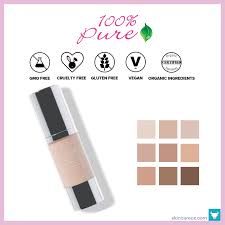 100 pure fruit pigmented healthy organic foundation 47