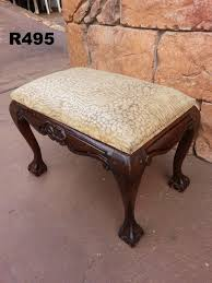 ball and claw dressing table chair