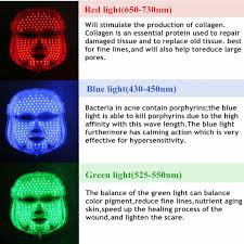 Led Light Therapy Color Chart 31 Qualified Led Light Therapy Mask Color Chart