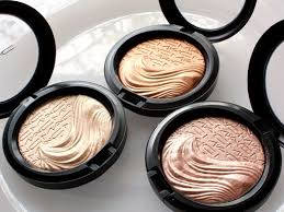 cosmetics highlight janet on extra dimension mineralize skinfinishes in whisper of gilt glorify and superb by