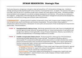 human resource strategy example co 26 hr strategy templates sample example format