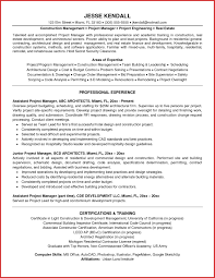 Resume For Entry Level Program Manager New Entry Level Project