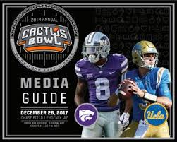 2017 Cactus Bowl Media Guide By Fiesta Bowl Issuu