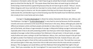 essays on racism in to kill a mockingbird racism in to kill a mockingbird essay by havok booksie