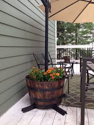 hold down a patio umbrella