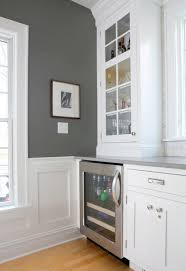 charcoal paint colorCharcoal Gray Paint Color  Contemporary  kitchen  Benjamin