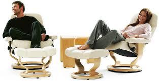 Stressless Diplomat Small Consul Recliner Chair Ergonomic Lounger