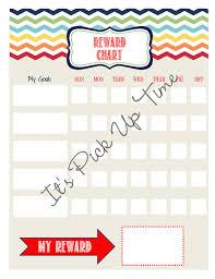 weekly reward chart printable boy weekly reward chart printable kids stuff 3 pinterest