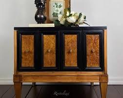 Art deco furniture Chair Midcenturymodern Meets Artdeco Lamp Table Etsy Art Deco Furniture Etsy