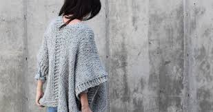 Free Easy Knitting Patterns Simple Telluride Easy Knit Kimono Pattern Mama In A Stitch