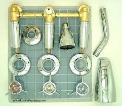 bathroom shower faucet repair 3 handle shower repair wonderful three handle tub shower faucet sets three