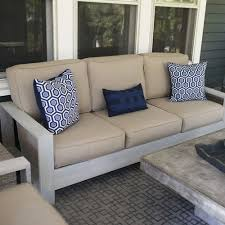 make your own outdoor furniture. build your own outdoor sofa and loveseat make furniture