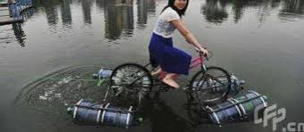 Water Bottle Cycles Diy Amphibious Bike