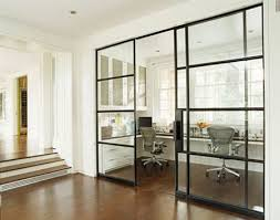 contemporary home office sliding barn. Office Sliding Door. Built In Desks Door Contemporary Home Barn N