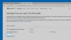 phone number to your microsoft account