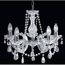 striking 5 light chrome chandelier ivana 5 light chrome luxury crystal chandelier