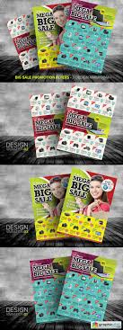 big promotion flyer templates vector stock big promotion flyer templates