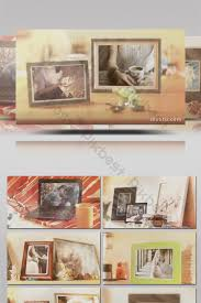 Old Movie Texture Effect Decorated Photo Frame Photo Show Ae