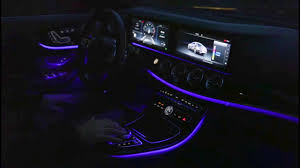 Ambient Lights In The Mercedes E Class Coupe Interior