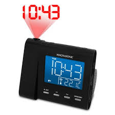am fm projection clock radio at