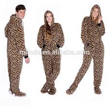 plus size footed pajamas adult footed hooded pajamas_yuanwenjun com