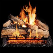 gas logs that look good year round