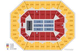 Miranda Lambert Seating Chart Charleston Coliseum Convention Center Charleston