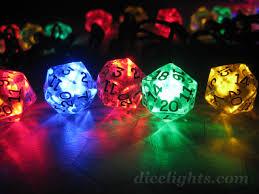 Dice With Lights Dice Lights