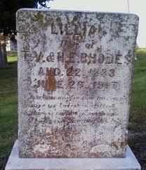 Lillian Rhodes (1883-1917) - Find A Grave Memorial