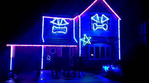 Gangnam Style Christmas Lights Perth Irlam Gangnam Style Christmas Lights Youtube