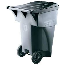 Outdoor Trash Can With Wheels Adorable Exterior Trash Containers Outside Garbage Cans Outdoor Trash Can